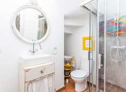 Projekty,  Łazienka zaprojektowane przez alma portuguesa