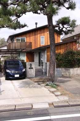 บ้านและที่อยู่อาศัย by アトリエグローカル一級建築士事務所