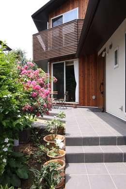 Terrasse de style  par アトリエグローカル一級建築士事務所