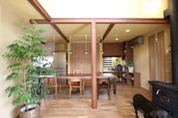 country Dining room by アトリエグローカル一級建築士事務所