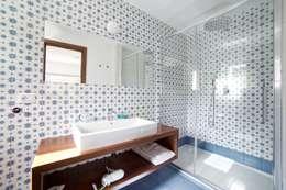 mediterranean Bathroom by CERAMICHE MUSA