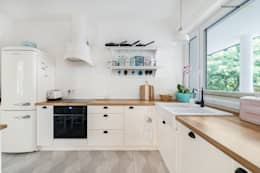 scandinavian Kitchen by PracowniaPolka