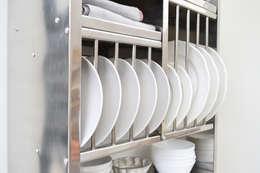 industrial Kitchen تنفيذ The Plate Rack