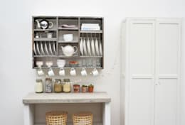 industrial Kitchen تنفيذ The Plate Rack