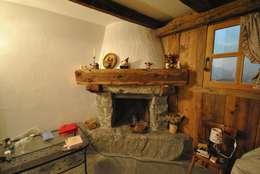 10 case rustiche dal fascino immortale for Casa montagna camino