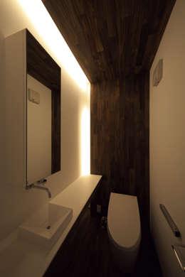 Ванные комнаты в . Автор – 株式会社廣田悟建築設計事務所