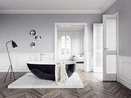 """Freistehende Badewanne """"VESUV"""" by  VALLONE®: moderne Badezimmer von Vallone GmbH"""