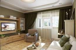 classic Living room by Дизайн студия Алёны Чекалиной