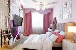 classic Bedroom by Дизайн студия Алёны Чекалиной