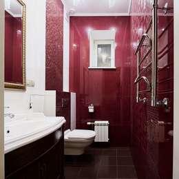 Коттедж Новая рига, 1000 кв.м : Ванные комнаты в . Автор – ELLE DESIGN STUDIO