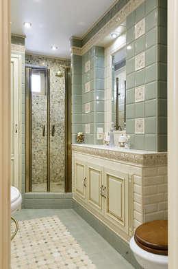 classic Bathroom by Valeria Ganina