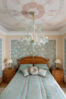 квартира на ВО, Галерный проезд д.5.: Спальни в . Автор – Valeria Ganina