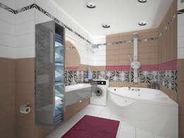 Лондон в Казани: Ванные комнаты в . Автор – Decor&Design