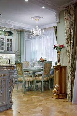 квартира на ВО, Галерный проезд д.5.: Гостиная в . Автор – Valeria Ganina