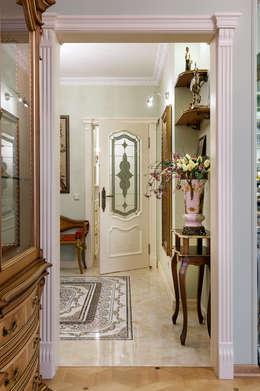 квартира на ВО, Галерный проезд д.5.: Коридор и прихожая в . Автор – Valeria Ganina