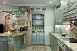 квартира на ВО, Галерный проезд д.5.: Кухни в . Автор – Valeria Ganina