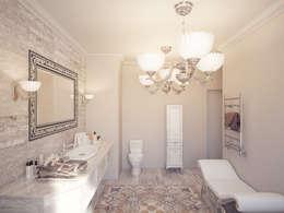 Небольшой проект санузла: Ванные комнаты в . Автор – Катков Сергей