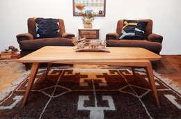 MESA VENTOSA: Livings de estilo escandinavo por TocToc - Muebles y Objetos Argentinos