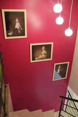 Décoration d'un séjour de 40 m²:  de style  par REVEL'HOME