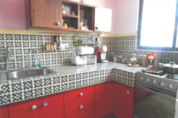 Cocina: Cocinas de estilo ecléctico por Teorema Arquitectura