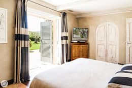 Projekty,  Sypialnia zaprojektowane przez PASSAGE CITRON