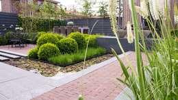 Tuin in Rhoon: moderne Tuin door Hoveniersbedrijf Tim Kok
