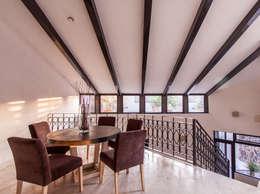 REMODELACIÓN AJUCHITLÁN: Comedores de estilo moderno por Loyola Arquitectos