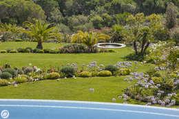 JARDIN - SAINT-TROPEZ: Jardin de style de style Méditerranéen par PASSAGE CITRON