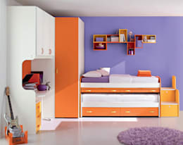 Habitaciones infantiles de estilo  por Versat