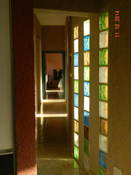 Коридоры, прихожие, лестницы в . Автор – ART quitectura + diseño de Interiores. ARQ SCHIAVI VALERIA