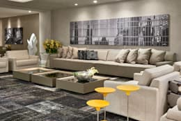 غرفة المعيشة تنفيذ Lider Interiores