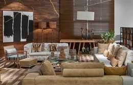 Гостиная в . Автор – Lider Interiores