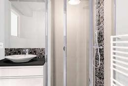 avant apr s la reconversion d 39 un garage en buanderie et. Black Bedroom Furniture Sets. Home Design Ideas