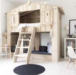 Dormitorios infantiles de estilo rural por Zomerzoen Milheeze