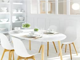 10 ideas para tener un comedor blanco ¡y fantástico!