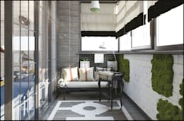 بلكونة أو شرفة تنفيذ Interiorbox