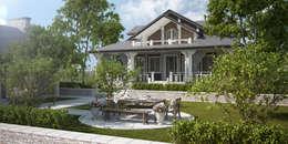 Проект дома в классическом стиле: Дома в . Автор – Way-Project Architecture & Design