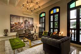 eclectic Living room by elliot James Pte Ltd