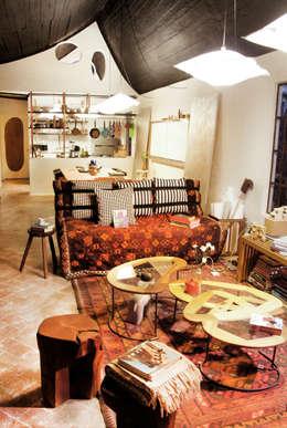 Projekty,  Salon zaprojektowane przez Juan Carlos Loyo Arquitectura