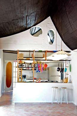 Salle à manger de style de style Moderne par Juan Carlos Loyo Arquitectura