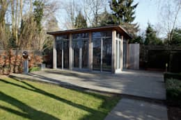 Atelier te Sittard: moderne Studeerkamer/kantoor door Joost Pennings Architect