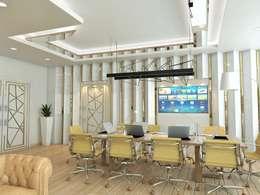 Murat Aksel Architecture – Office: modern tarz Çalışma Odası