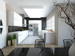 INdesign – INdesign: modern tarz Mutfak