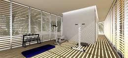 minimalistic Gym by Gustavo Guimarães