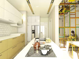 Murat Aksel Architecture – Housing: modern tarz Mutfak