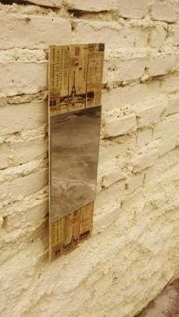Espejos de pared sustentables: Hogar de estilo  por Vivaz Diseños