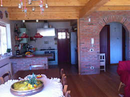 rustic Living room by Architetto Giovanni Marra Studio di Progettazione Integrata