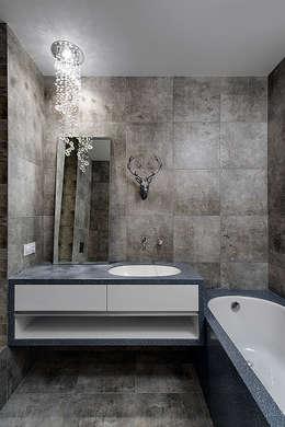 bathroom: minimalistische Badkamer door Olga Kravchuta design