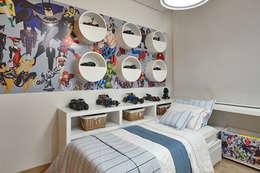 Apartamento IC: Quarto infantil  por Isabela Canaan Arquitetos e Associados