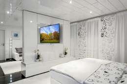 modern Living room by TV WALL Designmöbel
